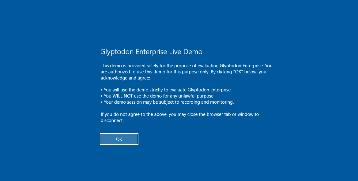 【分享】Glyptodon 免费提供Windows Server 2016演示桌面