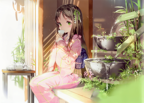 ANIME **** 361680 3465x2464 anmi long hair single blush looking at vie